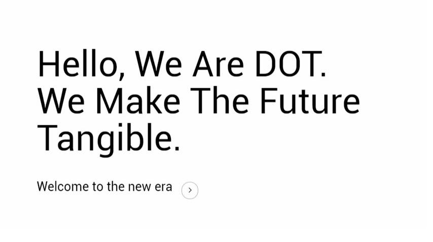 Detalle diseño web DOT
