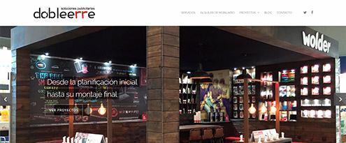 Diseño web Dobleerre