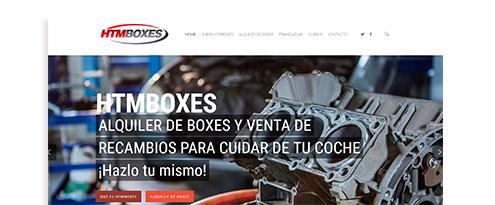 Desarrollo web HTM Boxes