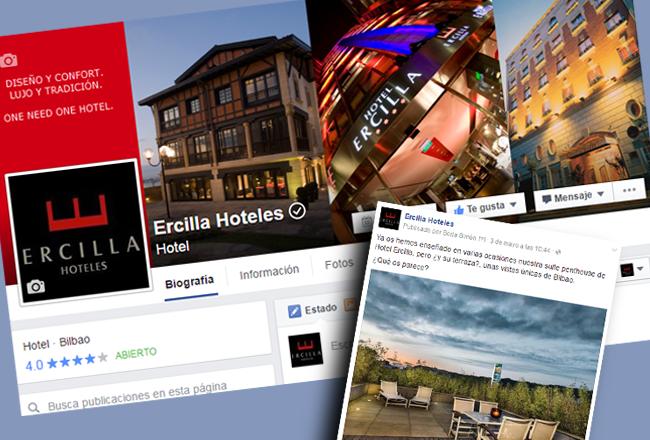 Facebook Ercilla Hoteles
